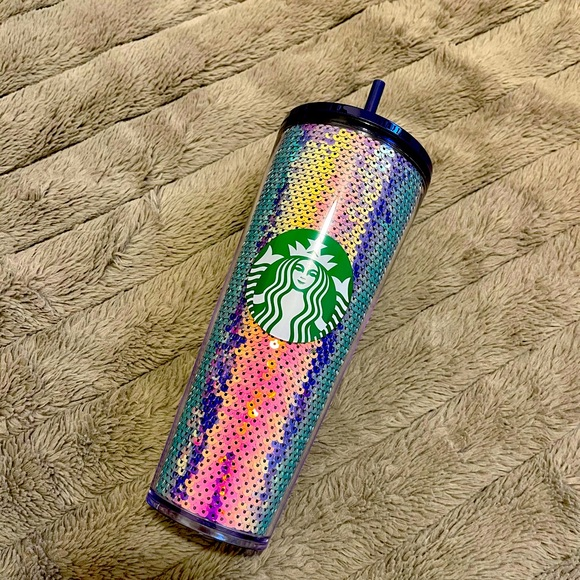 Starbucks oilslick sequin